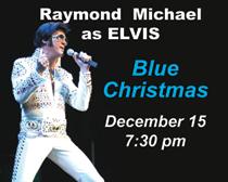Blue Christmas Elvis